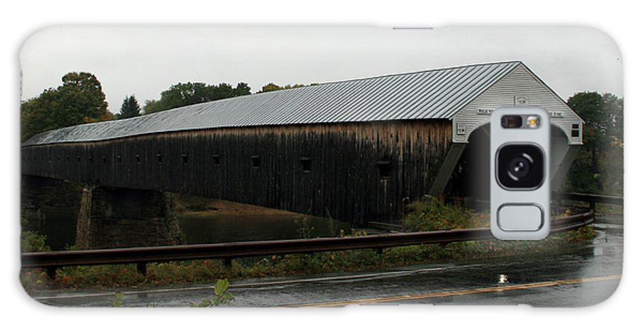 Covered Bridges Galaxy S8 Case featuring the photograph Cornish Windsor Covered Bridge by George Jones