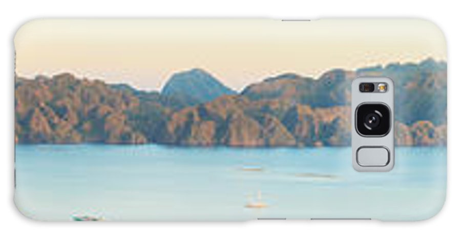 Panorama Galaxy S8 Case featuring the photograph Coron Panorama by MotHaiBaPhoto Prints