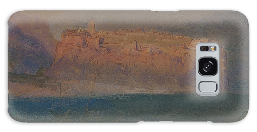 19th Century Art Galaxy S8 Case featuring the painting Corsica by Joseph Mallord William Turner