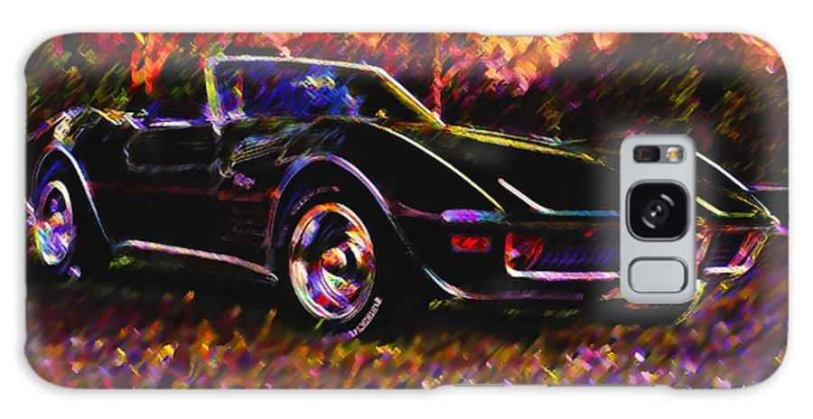 Corvette Galaxy S8 Case featuring the photograph Corvette Beauty by Stephen Anderson
