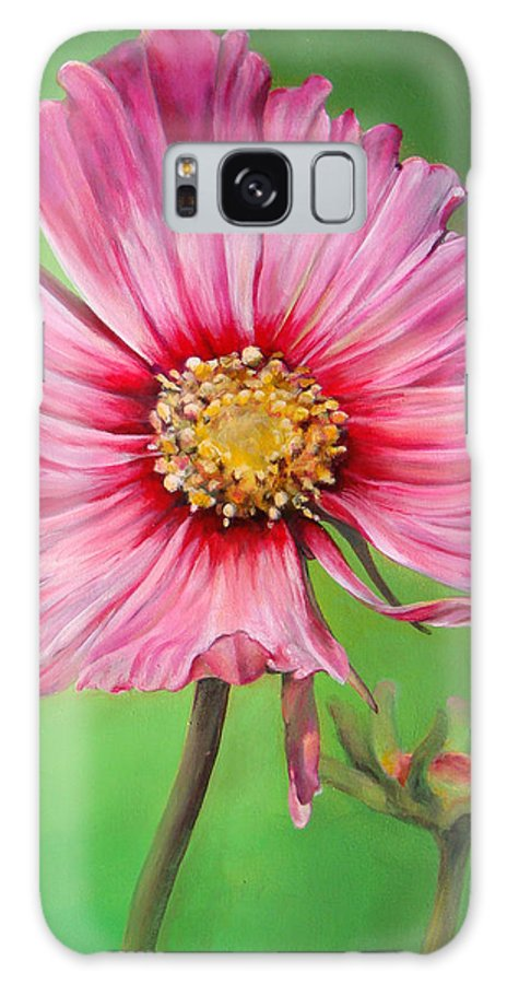 Floral Painting Galaxy S8 Case featuring the painting Cosmos by Dolemieux muriel