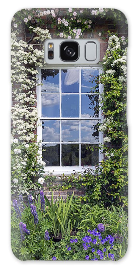 Cottage Galaxy S8 Case featuring the photograph Cottage Window by Joana Kruse