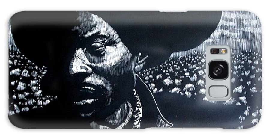 Galaxy Case featuring the mixed media Cotton The Fabric of our lives by Chester Elmore