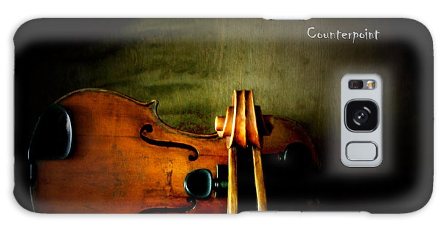 Violin Galaxy Case featuring the photograph Counterpoint by Steven Digman