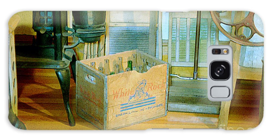 Kitchen Galaxy Case featuring the painting Country Kitchen Sunshine II by RC deWinter