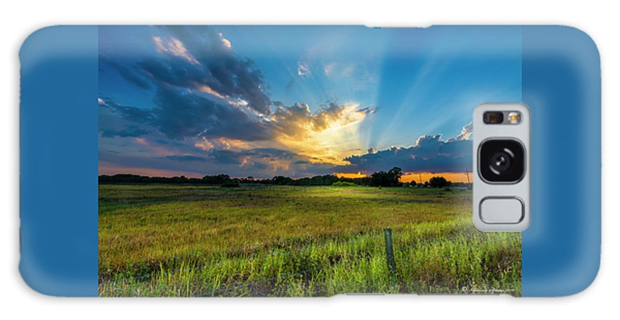 Backroads Galaxy Case featuring the photograph Country Life by Marvin Spates