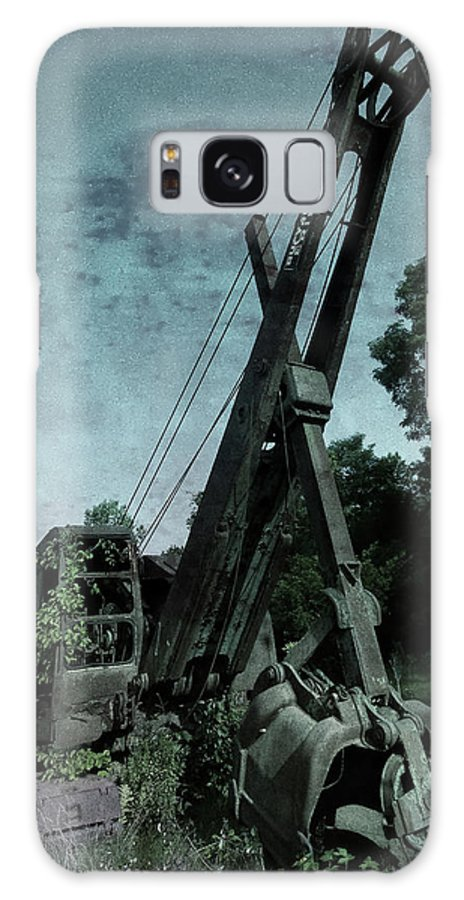 Old Crane Galaxy Case featuring the photograph Crane by Jerry LoFaro