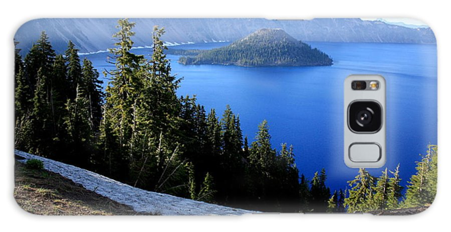 Crater Lake Galaxy S8 Case featuring the photograph Crater Lake 12 by Carol Groenen