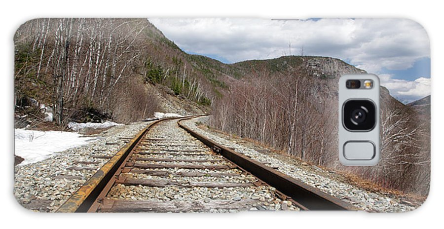 White Mountains Galaxy S8 Case featuring the photograph Crawford Notch State Park - Maine Central Railroad by Erin Paul Donovan
