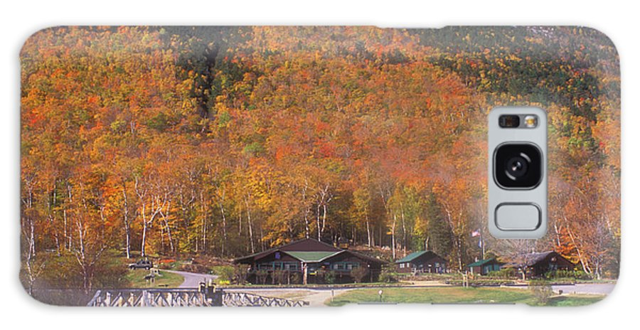 Autumn Galaxy S8 Case featuring the photograph Crawford Notch Willey House by John Burk