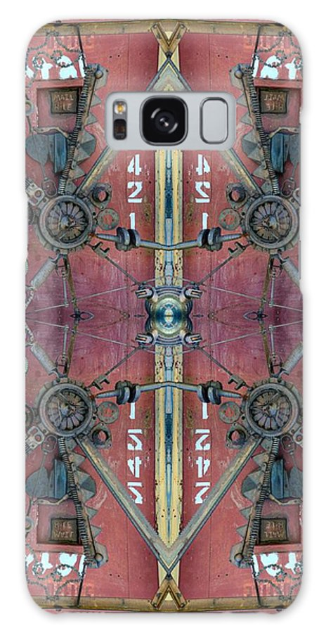 Door Galaxy S8 Case featuring the photograph Crazy Door by Steven R Breininger