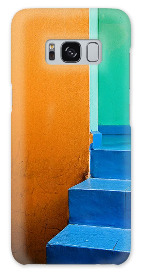 Oaxaca Galaxy Case featuring the photograph Creamsicle by Skip Hunt
