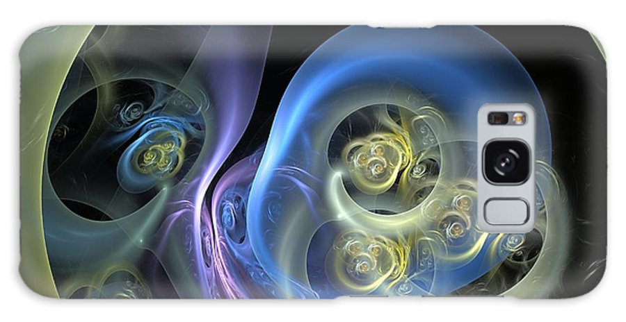 Apophysis Galaxy S8 Case featuring the digital art Creatures From Beneath by Deborah Benoit
