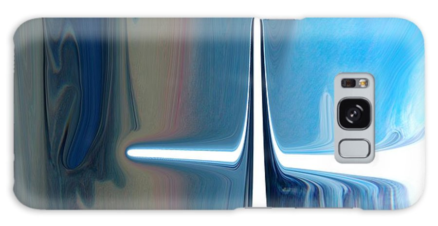 Abstract Galaxy Case featuring the digital art Cross Purpose by Florene Welebny