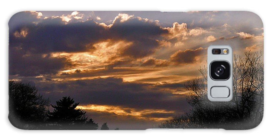 Cloud Galaxy Case featuring the photograph Crown Cloud by Albert Stewart