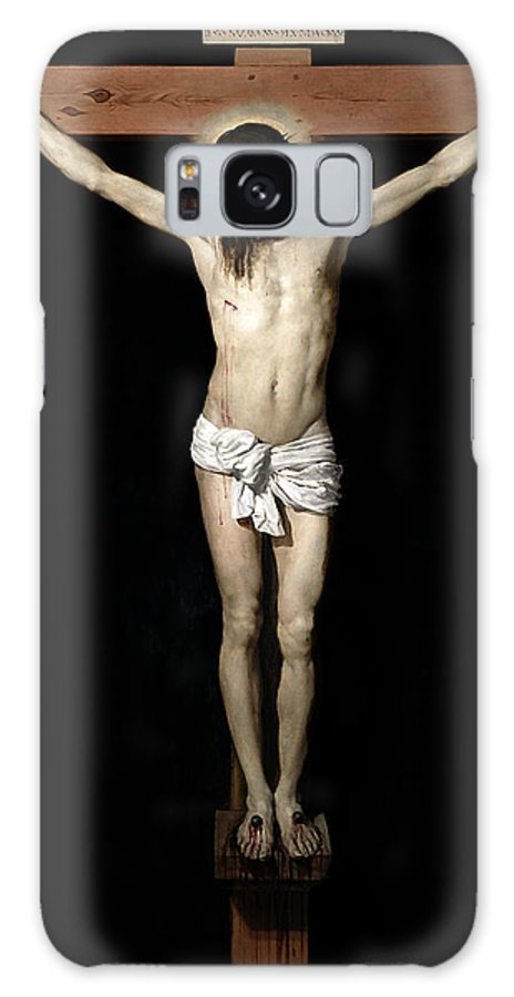 Crucifixion Galaxy S8 Case featuring the digital art Crucifixion by Diego Velazquez