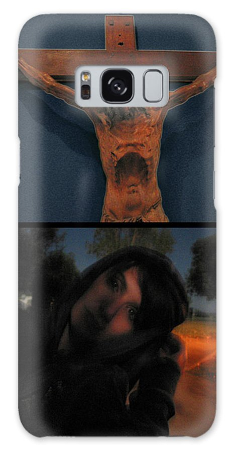 Crucifixion Galaxy S8 Case featuring the photograph Crucifixion by James W Johnson