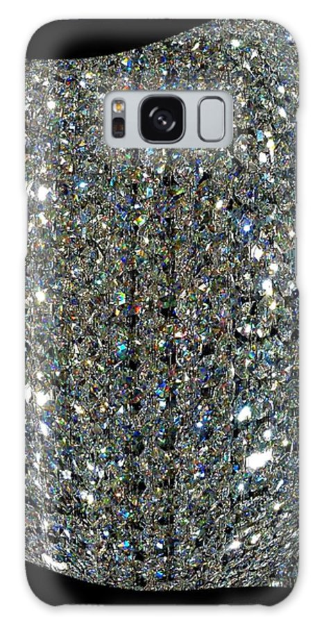 Crystal Galaxy S8 Case featuring the digital art Crystal Ice by Will Borden