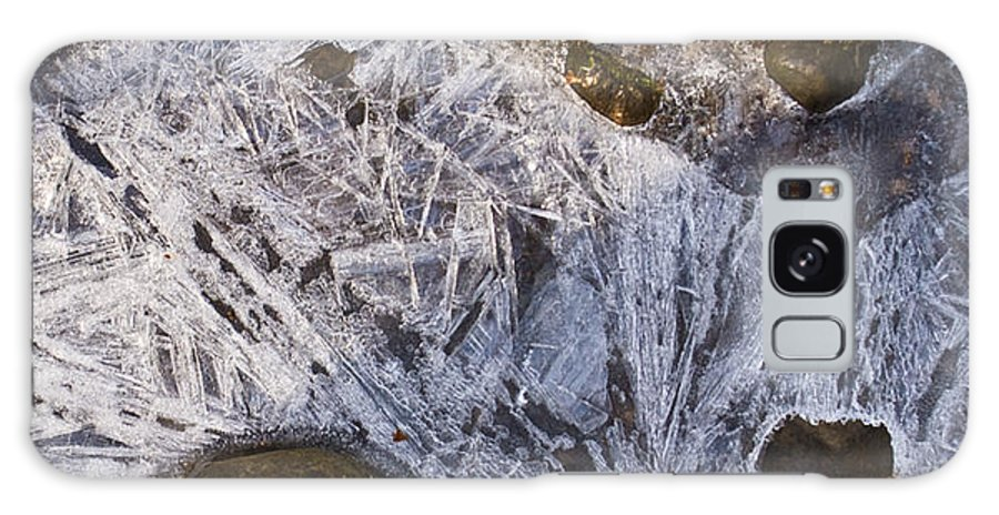 Frozen Galaxy S8 Case featuring the photograph Crystal Labyrinth  by Douglas Barnett