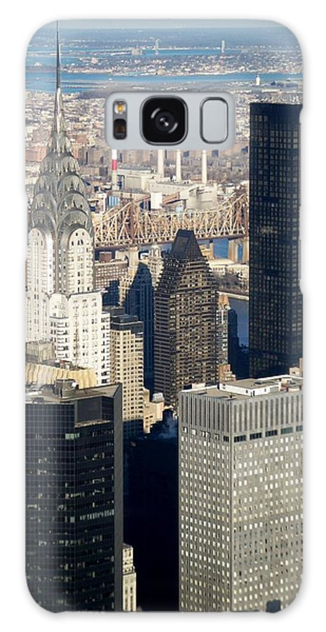 Crystler Building Galaxy Case featuring the photograph Crystler Building by Anita Burgermeister