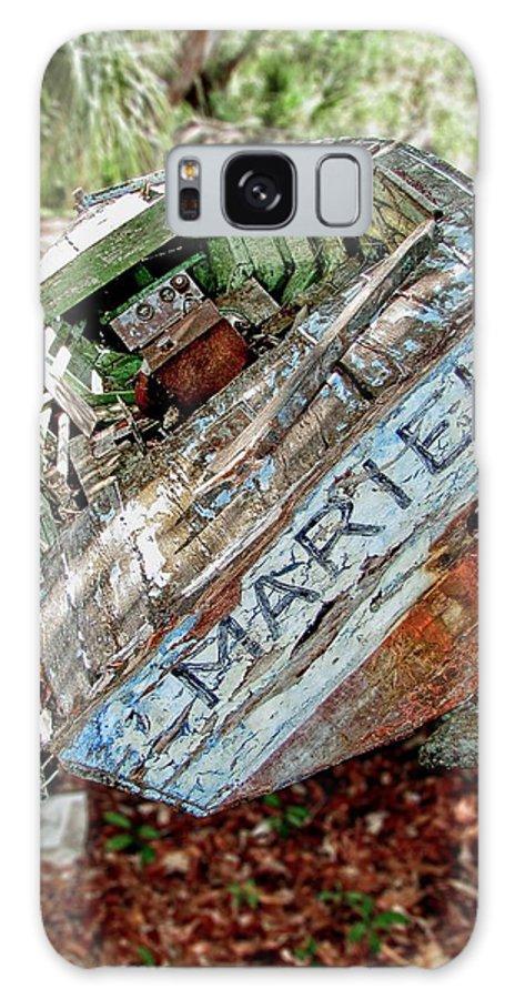 Mariel Galaxy S8 Case featuring the photograph Cuban Refugee Boat 3 The Mariel by Bob Slitzan
