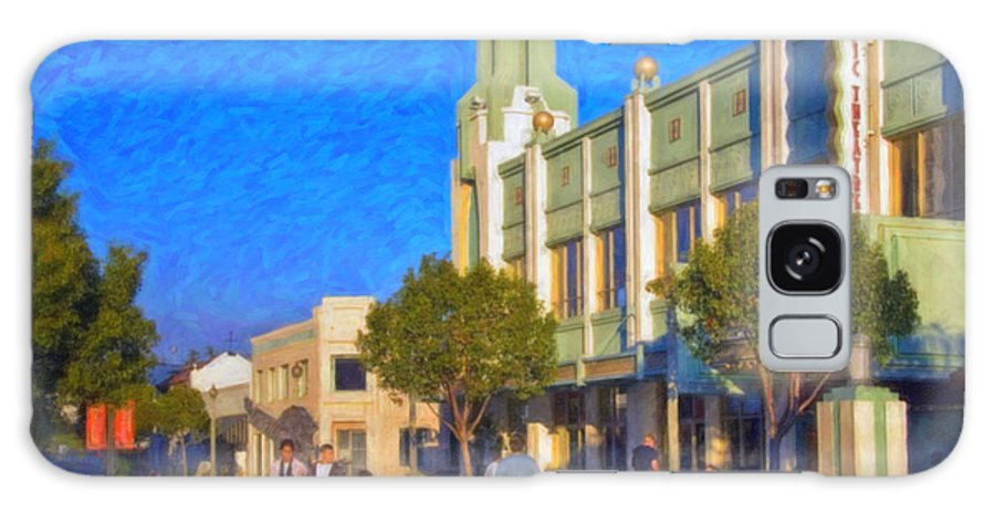 Culver City Plaza Theaters Los Angeles California Galaxy S8 Case featuring the photograph Culver City Plaza Theaters  by David Zanzinger