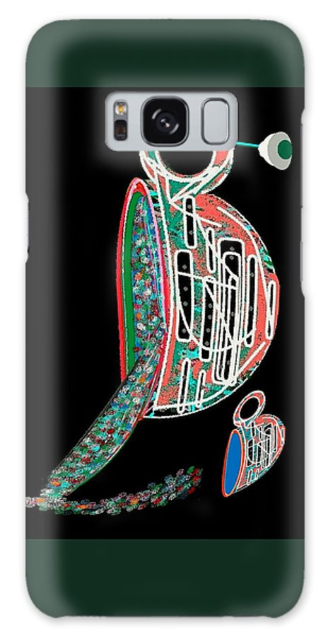 Cup Galaxy S8 Case featuring the digital art Cup Of Sparkles by Melvin Moon