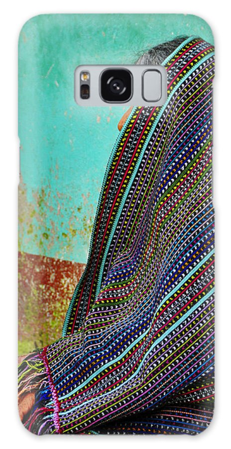 Skip Hunt Galaxy Case featuring the photograph Curandera by Skip Hunt