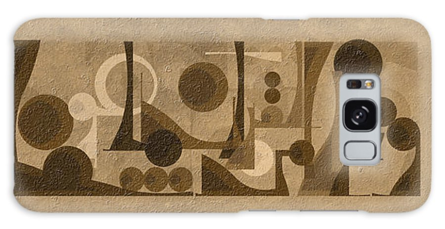 Islamic Art - Oil Painting-typography Galaxy Case featuring the painting Cure by Mazdak Pashaei rad