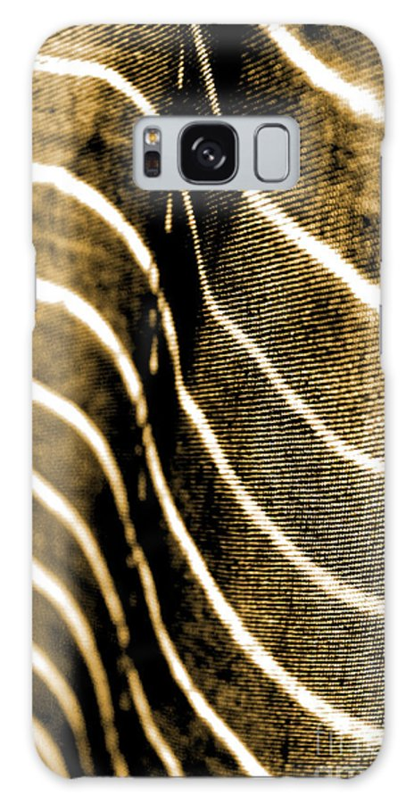Abstract Galaxy S8 Case featuring the photograph Curves And Folds by Todd Blanchard