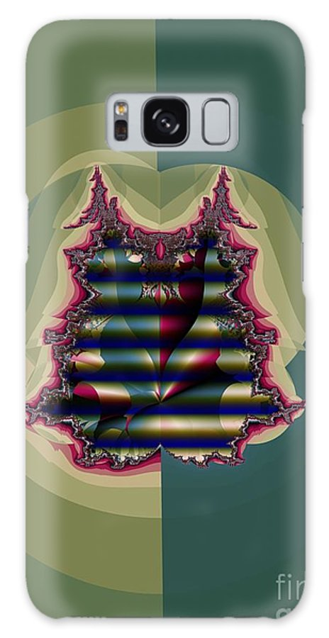 Quilted Galaxy S8 Case featuring the digital art Custom Quilted Shade by Ron Bissett