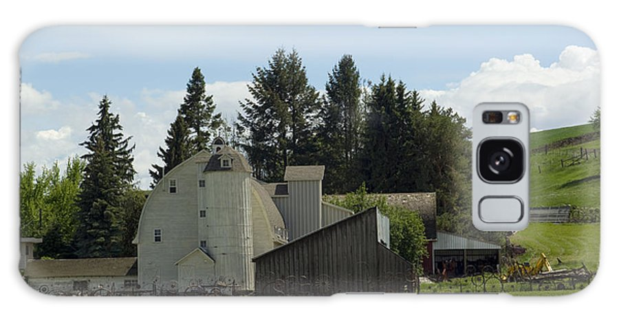 Barn Galaxy S8 Case featuring the photograph Dahmen Barn Historical by Louise Magno