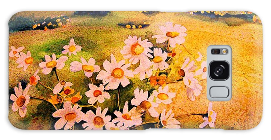 Daisies Galaxy S8 Case featuring the painting Daisies In The Sun by Carole Spandau