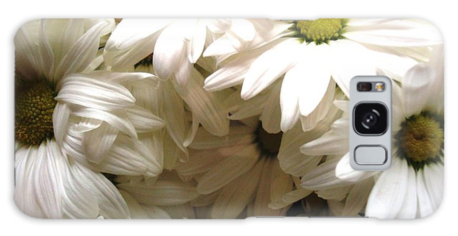 Flowers Galaxy S8 Case featuring the photograph Daisies Make Me Smile by Laura Grisham