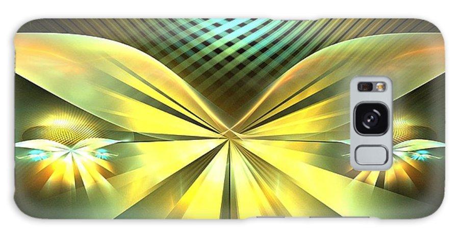 Apophysis Galaxy S8 Case featuring the digital art Daisy Wings by Kim Sy Ok