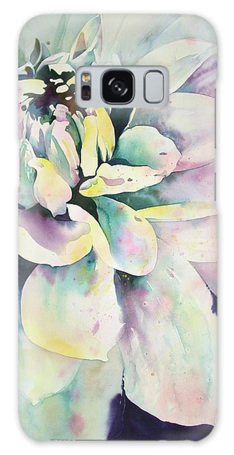 Watercolor Galaxy S8 Case featuring the painting Dalia by Marlene Gremillion