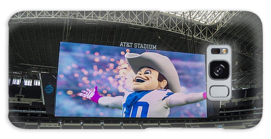 Dallas Cowboys Galaxy S8 Case featuring the photograph Dallas Cowboys Rowdy by Craig David Morrison