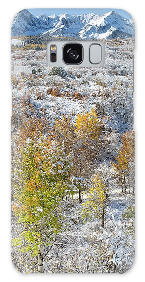Mountain Galaxy S8 Case featuring the photograph Dallas Divide In October by Denise Bush