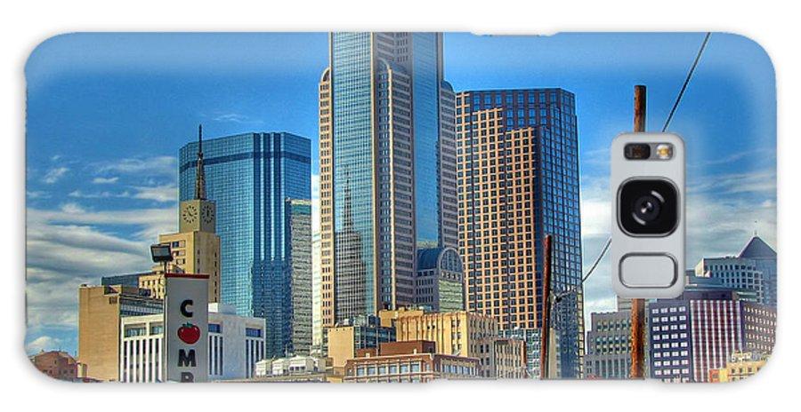 Dallas Galaxy S8 Case featuring the photograph Dallas Morning Skyline by Farol Tomson