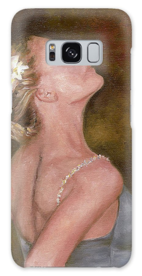 Dancer Galaxy S8 Case featuring the painting Dance For Her Father by Freida Petty