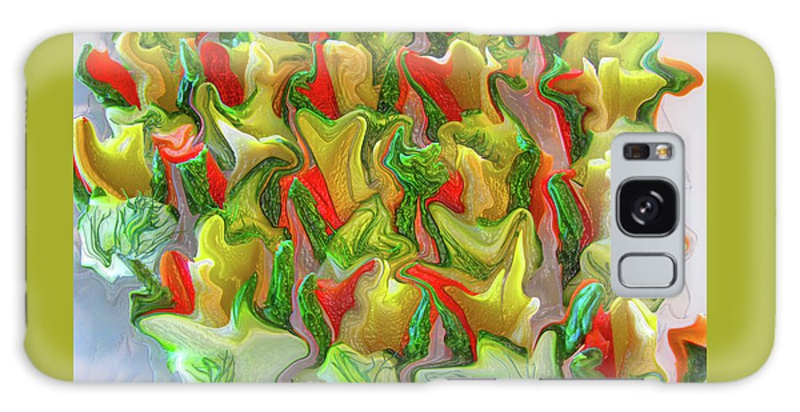 Abstract Galaxy S8 Case featuring the photograph Dance Of The Appetizers by Kathy Moll