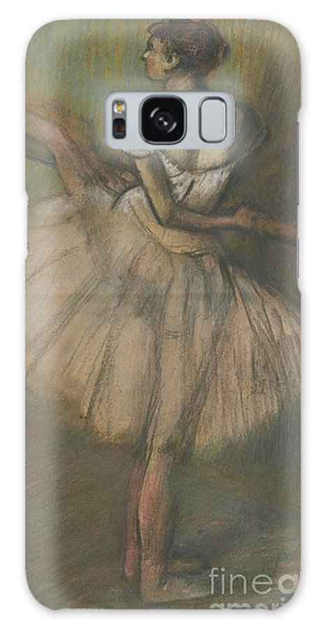 Edgar Degas Galaxy S8 Case featuring the painting Dancer At The Helm by Celestial Images