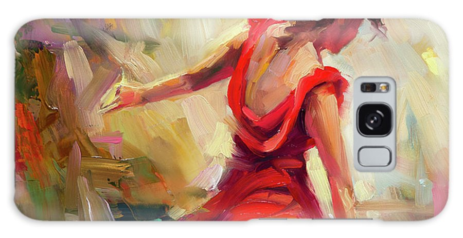 Dancer Galaxy S8 Case featuring the painting Dancer by Steve Henderson