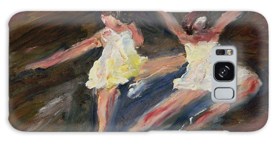 Dance Galaxy S8 Case featuring the painting Dancers One by Edward Wolverton