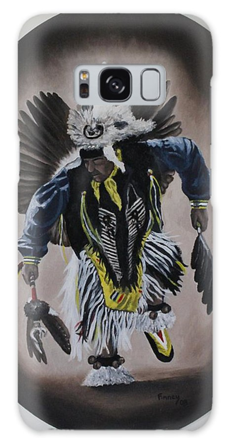 Michael Galaxy S8 Case featuring the painting Dancing In The Spirit by Michael TMAD Finney