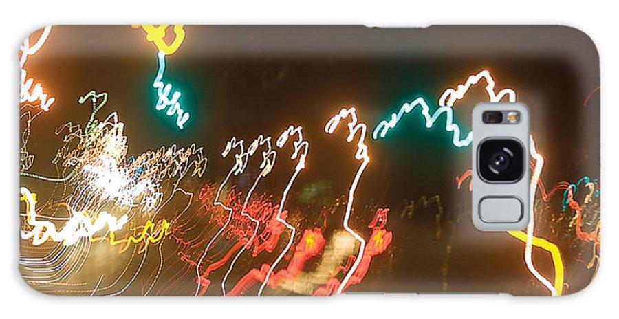 Light Streaks Galaxy S8 Case featuring the photograph Dancing Light Streaks by Steve Somerville