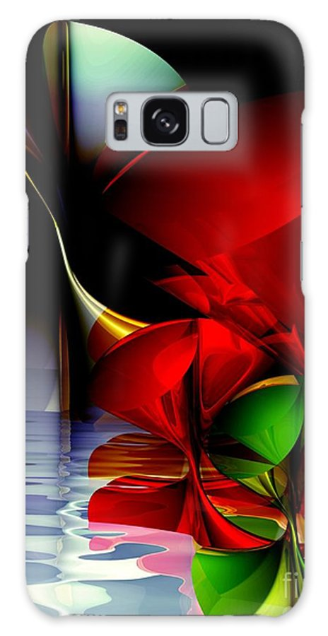 3d Galaxy S8 Case featuring the digital art Dancing Polynomials by Issabild -