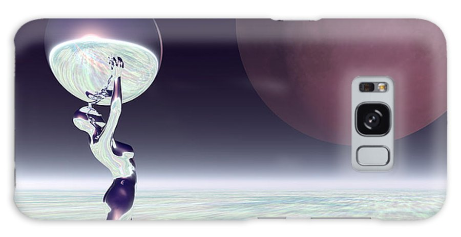 Bryce Galaxy S8 Case featuring the digital art Dancing With The Moon by Sandra Bauser Digital Art