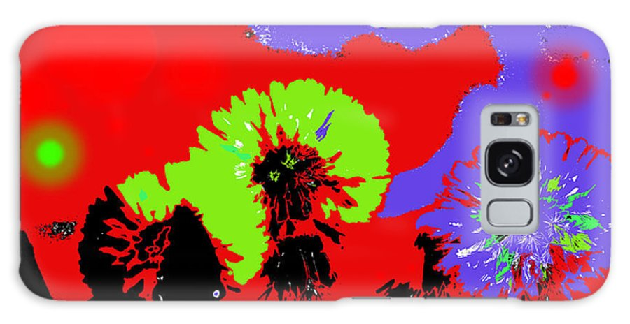 Abstract Galaxy S8 Case featuring the photograph Dandelion Seeds by Jeff Swan