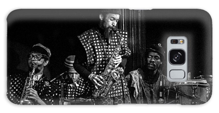 Jazz Galaxy S8 Case featuring the photograph Danny Davis With Sun Ra Arkestra by Lee Santa